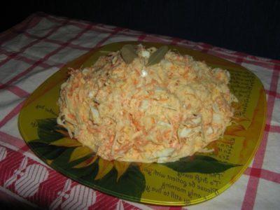 Салат из черной редьки