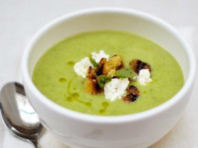 Суп из свежего гороха